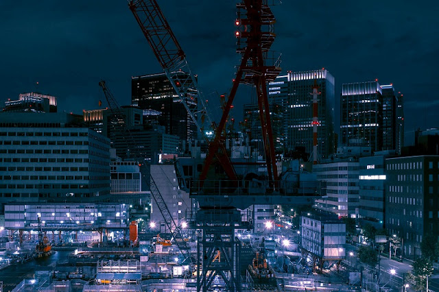 foto por Cody Ellingham, proyecto DERIVE, Tokyo | cool surreal night city lights | imagenes chidas lindas | awesome photos