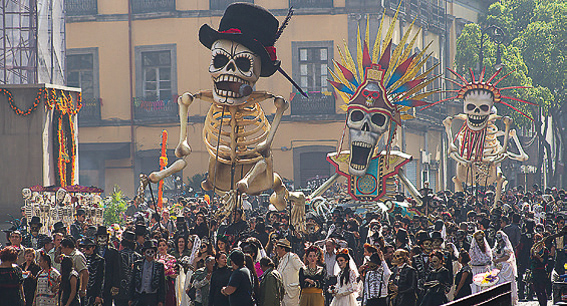 Día de los muertos en Mexico
