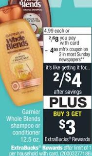 Garnier Whole Blends CVS Deal $0.80 84-810
