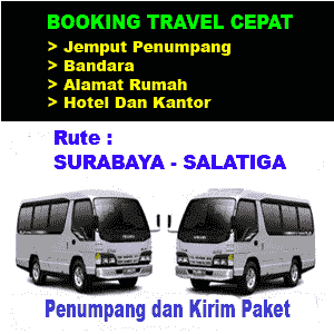 Travel Surabaya ke salatiga