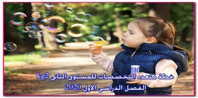 هام لمعلمات رياض الاطفال خطة متعدد التخصصات descover للمستوى الثانى kg2 ترم اول 2020