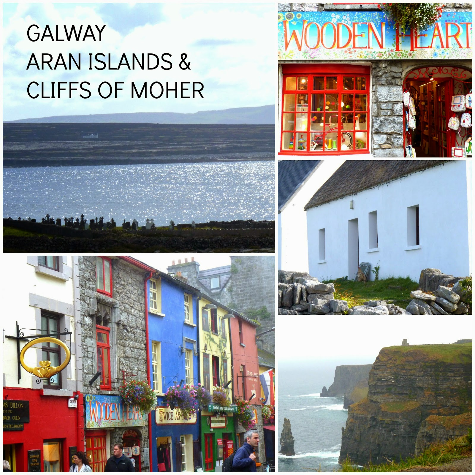 Galway - Aran Islands - Cliffs of Moher Irlanda