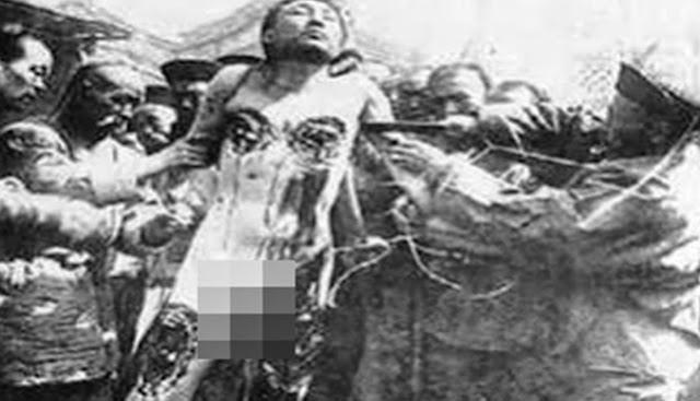 Hukuman Mati paling sadis sepanjang masa [Lingchi]