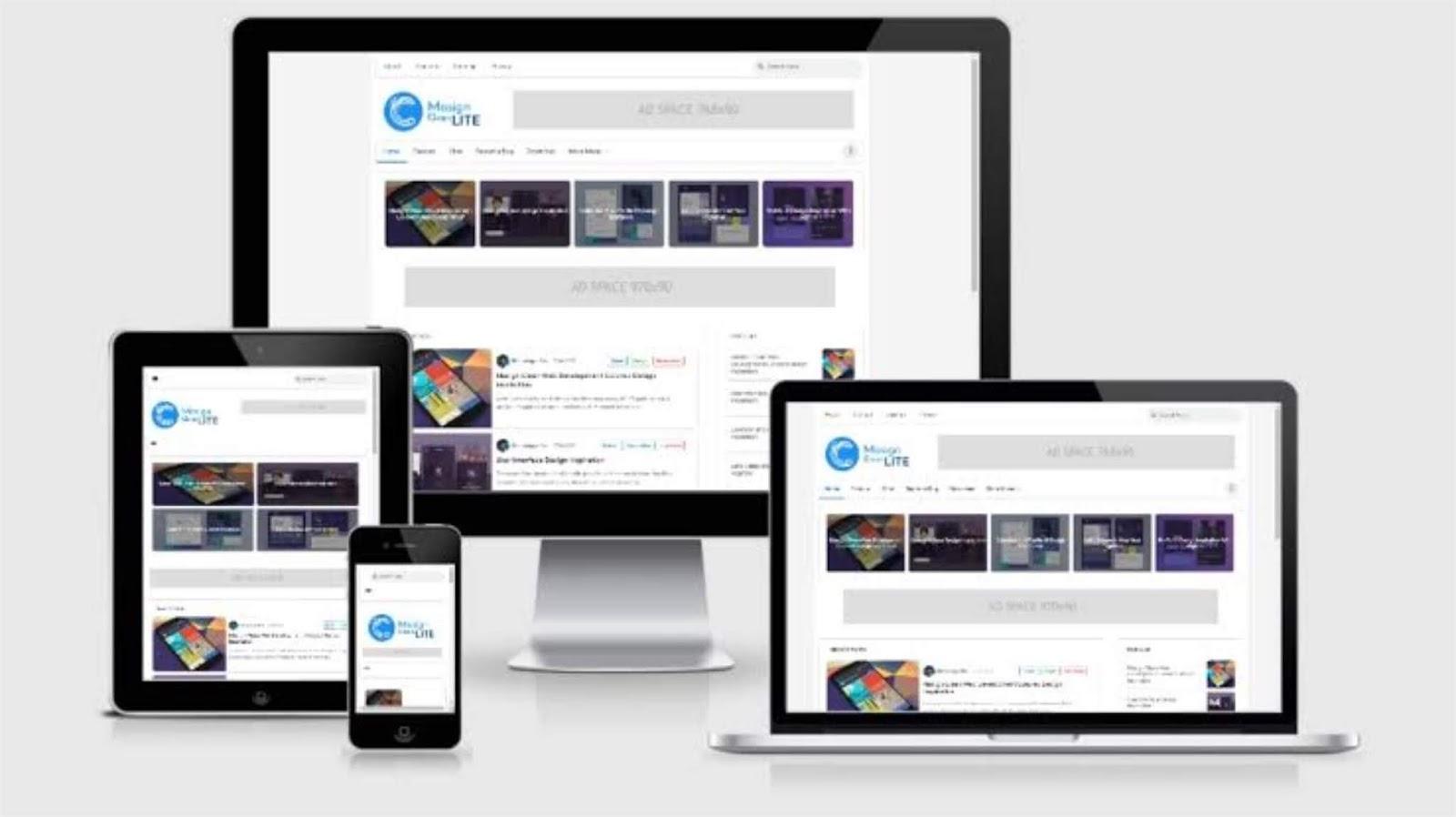 Download Template Blogspot Masign Clean Lite Premium Gratis Terbaru