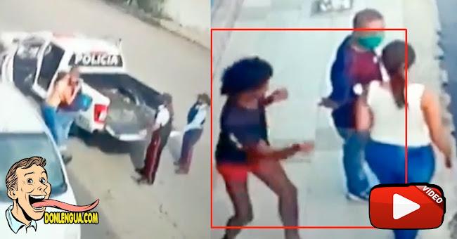 Indigente de Valencia apuñaló a una mujer con un lápiz y huyó