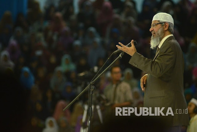 Ceramah Zakir Naik di Indonesia Ternyata Diawasi oleh Kepolisian