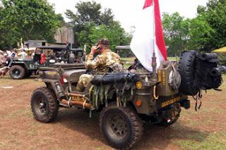 Tentara Indonesia di Jambore American Jeep 2018