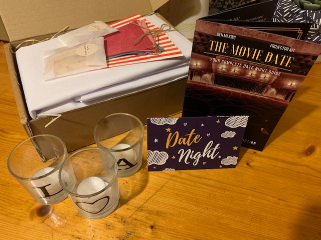 Movie Date night box