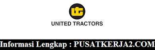 Lowongan Kerja Jakarta SMA SMK D3 S1 Juni 2020 PT United Tractors