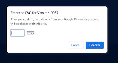إصلاحات Google الدفع باستخدام Google Pay في متصفح Chrome