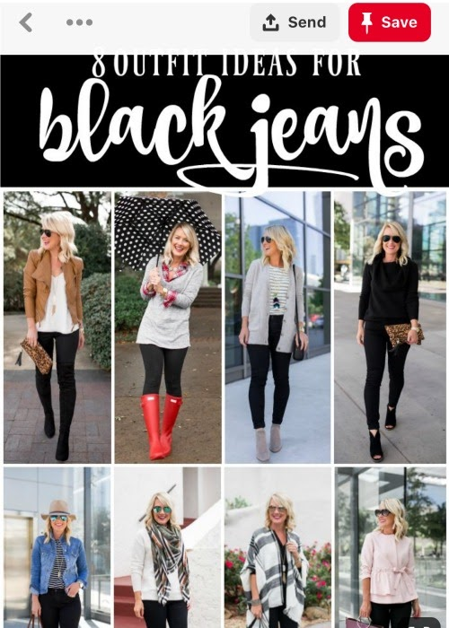 black jean styling ideas by hi sugarplum