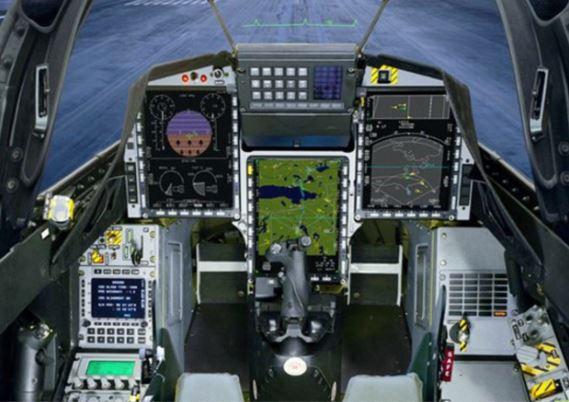 HAL Tejas cockpit