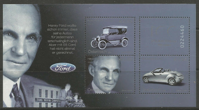 The Ford Motor Company ships its first automobile Austria