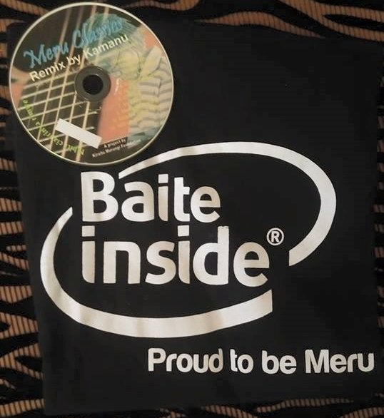 Baite Inside t-shirt and Meru songs