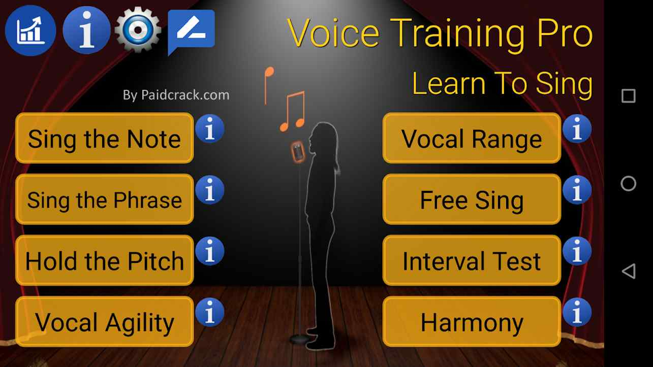 Voice Training Pro - Learn To Sing Paid Apk 1.1.8