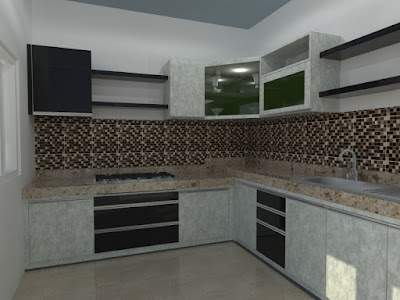 kitchen set interior
