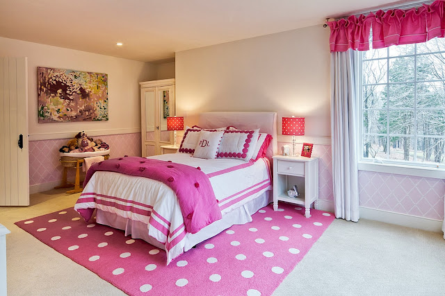 Bedroom Design Pink Color