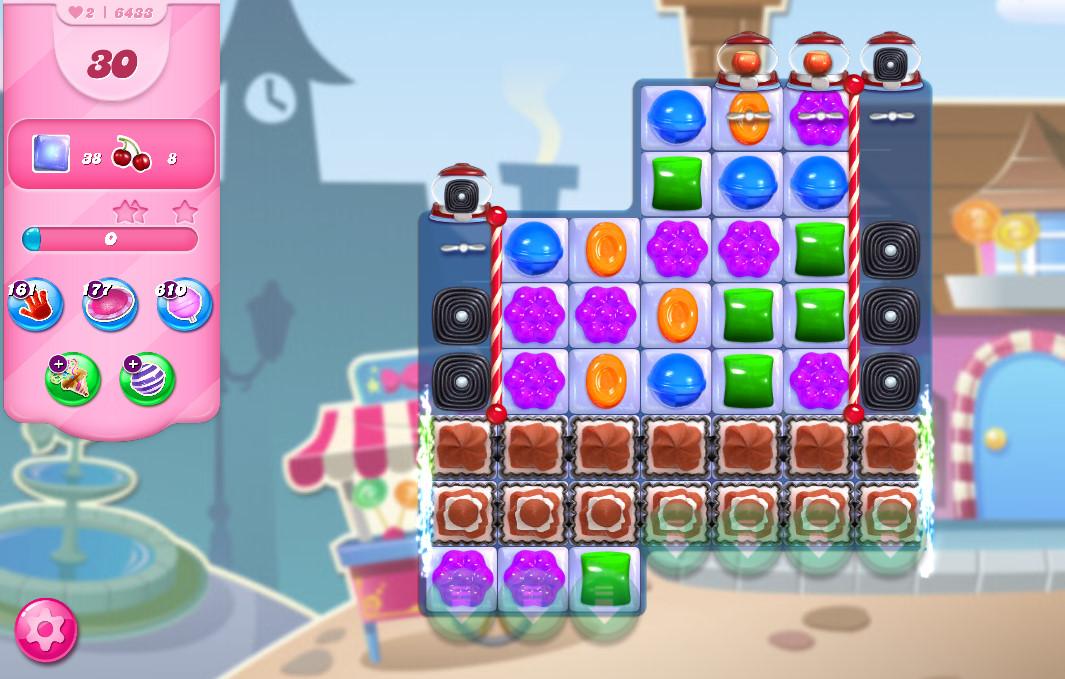 Candy Crush Saga level 6433
