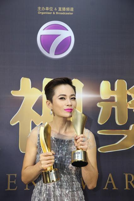 最佳女配角&传媒推荐大奖杰出艺人:杨雁雁