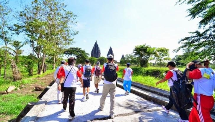 Ribuan Peserta Berbagai Negara Ikuti  Jogja International Heritage Walk 2019