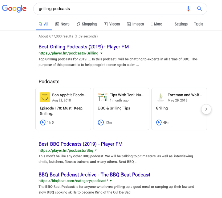 Media Confidential: Google Now Includes Podcasts In Search