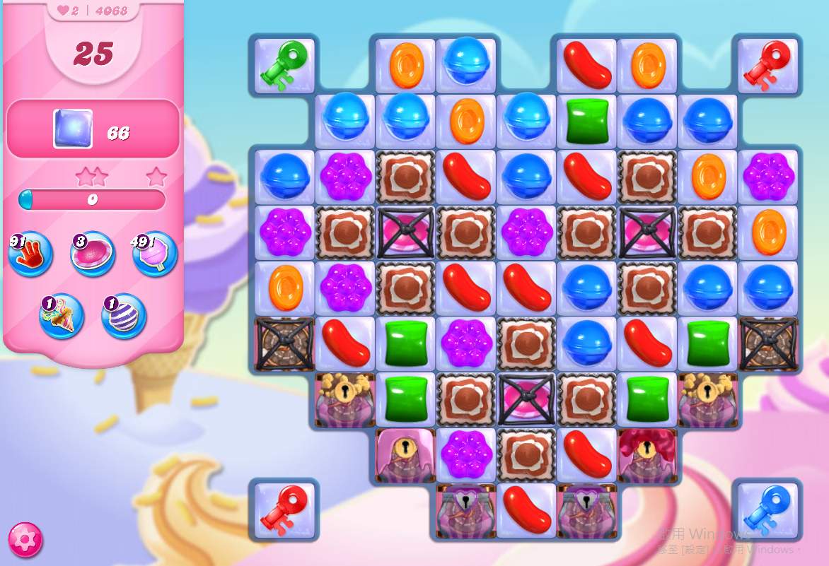 Candy Crush Saga level 4068