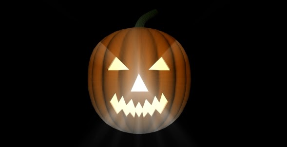 Halloween mystery pumpkin
