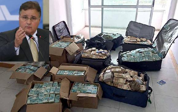 Até o momento, PF já contabilizou R$22,5 milhões em Bunker de Geddel;