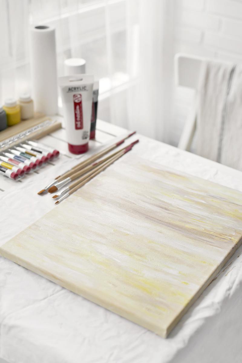 CÓMO CREAR UNA OBRA DE ARTE PARA DECORAR VUESTRO HOGAR / HOW TO CREATE A WORK OF ART TO DECORATE YOUR HOME