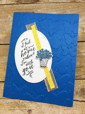 Stampin' Up! At Home Pre Order Swap by Katherine Narog for Stamping to Share.