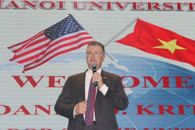 THE US AMBASSADOR HIGHLY RECOMMENDED VIETNAM AS POTENTIAL DESTINATION FOR INDUSTRIAL REAL ESTATE