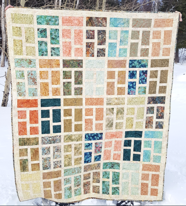 Formal Garden quilt pattern | DevotedQuilter.com