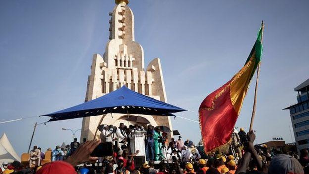 waandamanaji nchini Mali