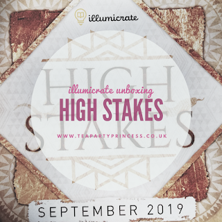 Book Box Review: High Stakes - Illumicrate September 2019