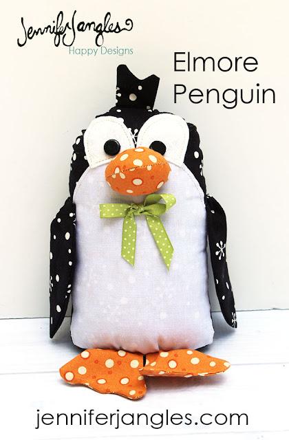 Jennifer Jangles Blog: DIY Penguin Softie Sewing Pattern