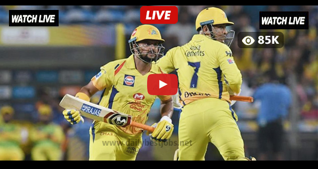IPL Live Streaming CSK vs DD Live Cricket Match Online
