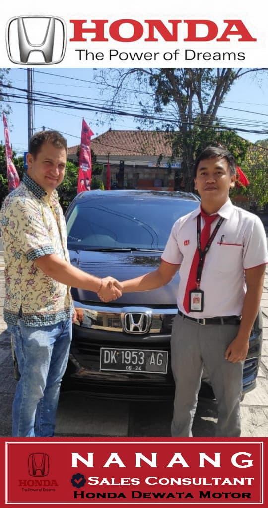 Sales Honda Bali, Nanang Sales Honda Denpasar Bali
