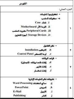 كتاب نظم المعلومات الإدارية عملى pdf