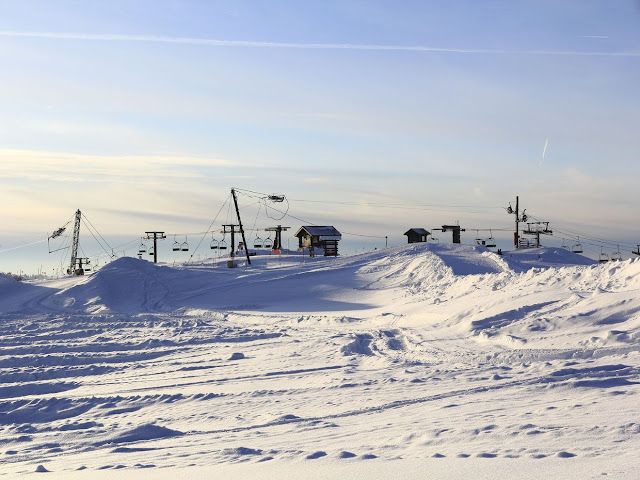 Esquiar em La Bresse