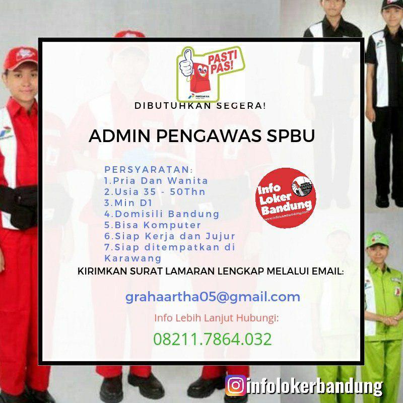 Lowongan Kerja Admin Pengawas SPBU CV.Artha Graha Juni 2019