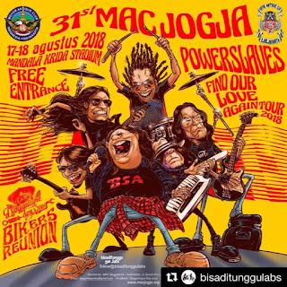 "Anniversary 31st motor antique club jogjakarta 17-18 agustus 2018   Djogjantiqueday 2018  ""Bikers Reunion"""