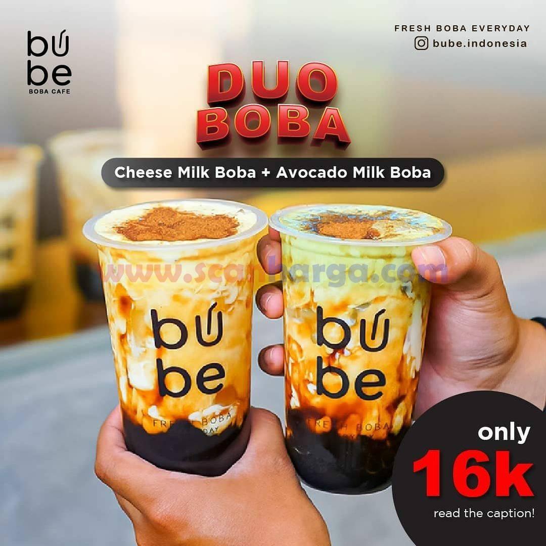 Promo BUBE Terbaru Periode 3 Juni - 7 Juli 2021