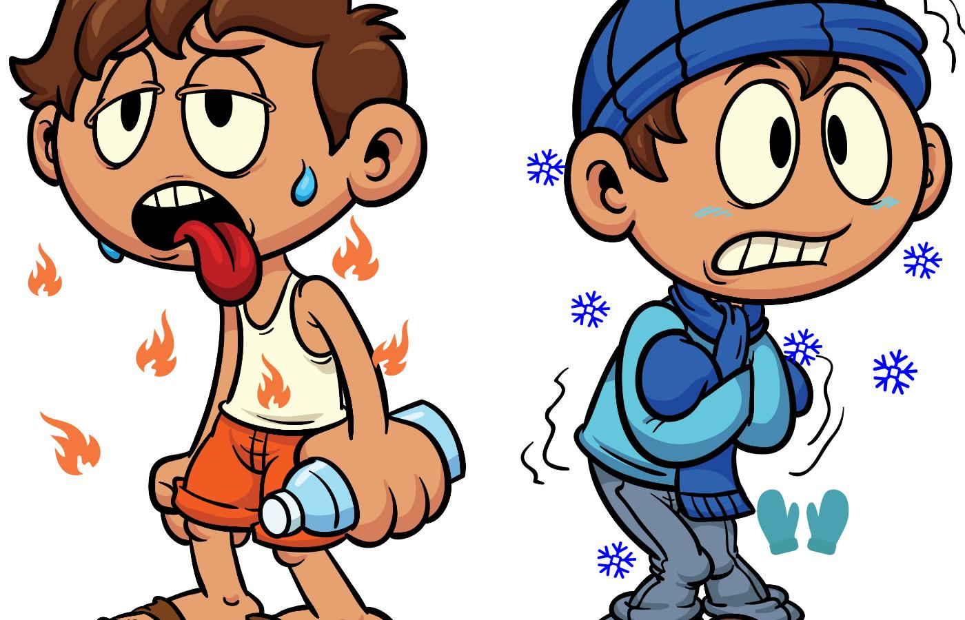 Cold Pictures Clip Art