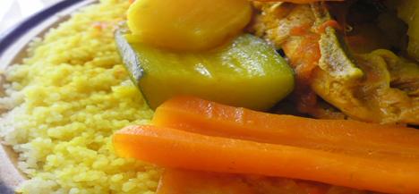 Moroccan Doukkali Couscous