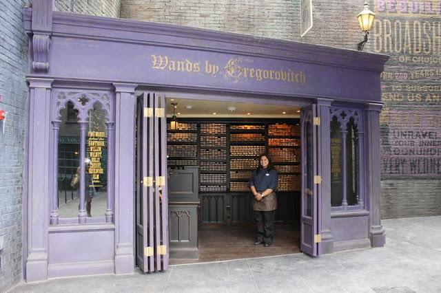 Магазинът за магически пръчки на Грегорович