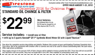 Firestone coupons for december 2016