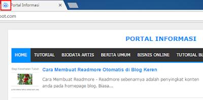 Cara Mengganti Logo Blogger (Favicon) di Blog