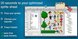 TexturePacker 5-2 إنشاء أوراق sprite أو الأطالس برمجيات
