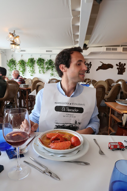 restaurante el pescador Menorca a golpe de objetivo