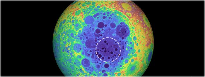 enorme estrutura escondida na Lua